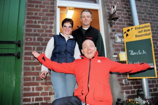 Familie Rosendahl mit Berhard Hoëcker