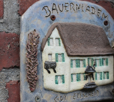 Tontafel Bauernhaus